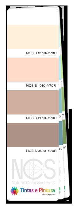cores catálogo NCS