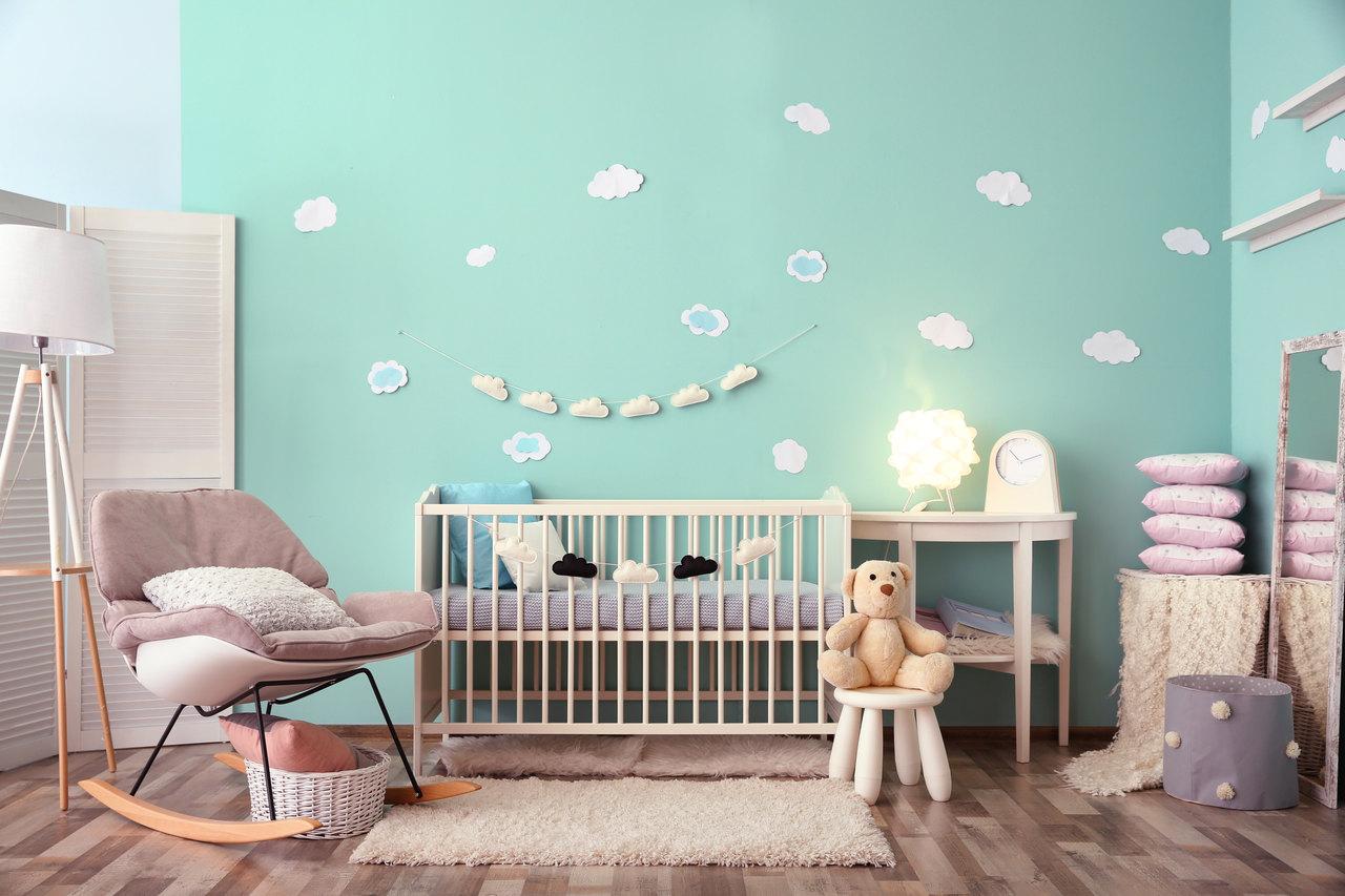 Qual a tinta mais indicada para o quarto dos bebés