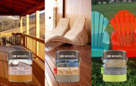CIN WOODTEC protege e decora as madeiras