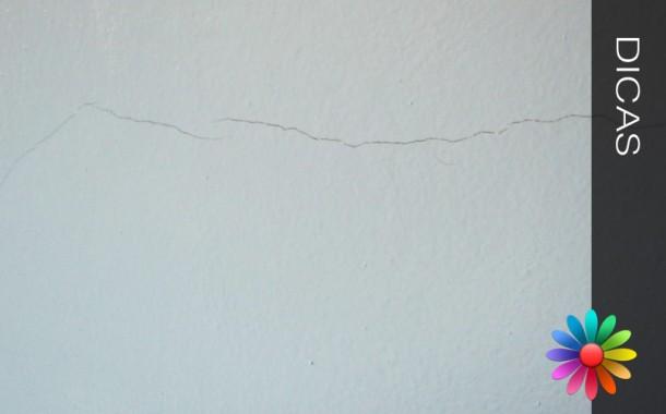 Reparar Fissuras nas Paredes e Tetos