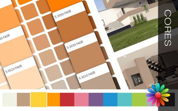 Escolha a cor e inspire-se para pintar a sua casa!