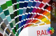 Cores Catálogo RAL
