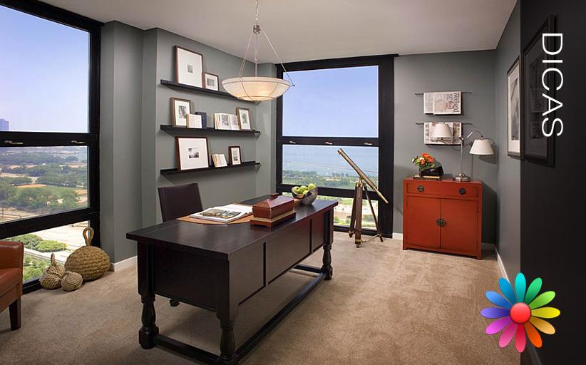 Altere a sensação de espaço em ambientes interiores