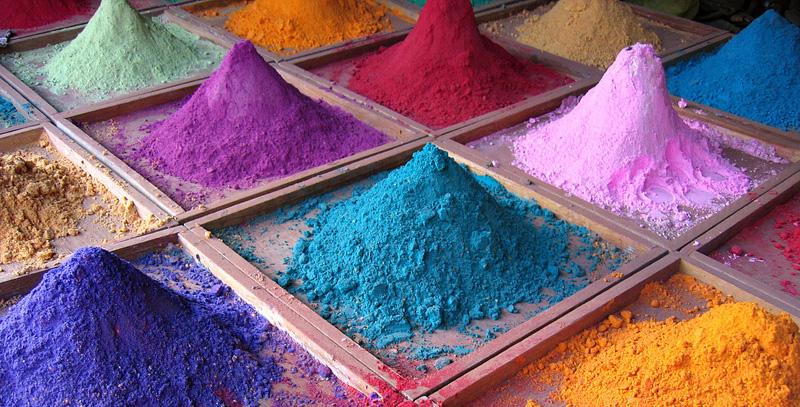 Indian pigmentos