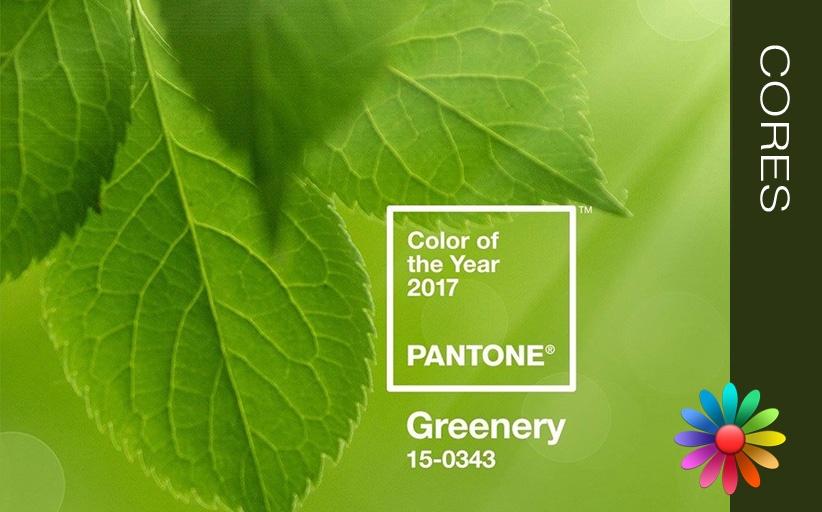 Verde Greenery  (Cor Pantone 2017)