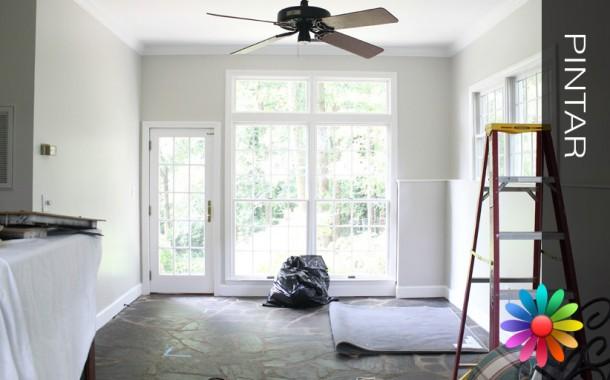 Preparar as Superfícies Interiores (Paredes, Metais e Madeiras) para Pintar