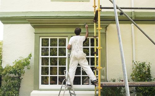pintar exteriores