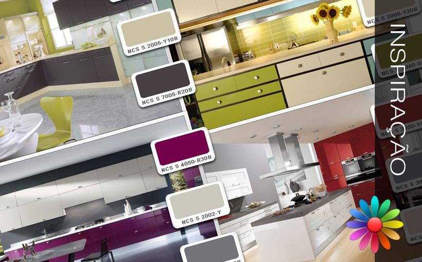 Cores - Ideias para a Sua Casa - Cozinhas